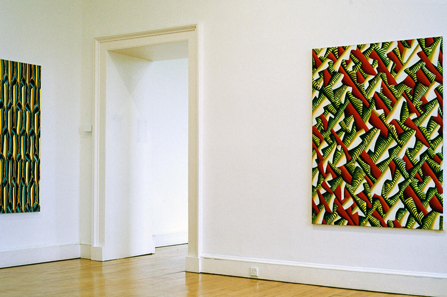 Christine Krämer · Exhibition view · Scottish National Gallery of Modern Art · Edinburgh, 1997