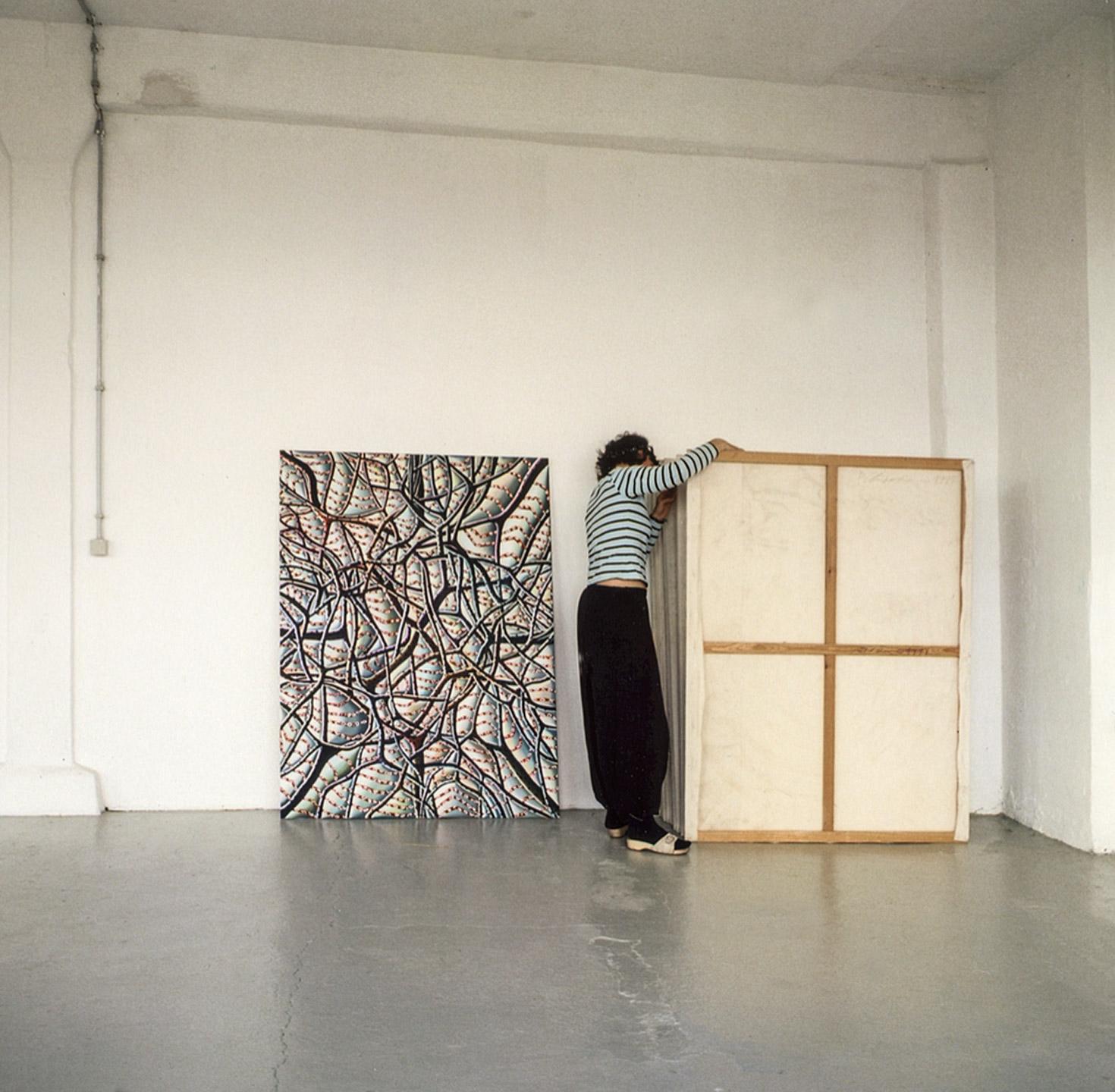 Christine Krämer in her Studio