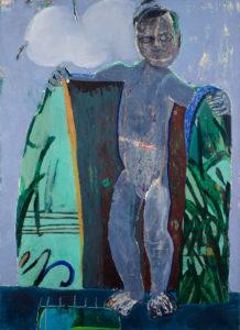 Christine Krämer · Demon · 1988 · 100 x 130 cm · oil on canvas
