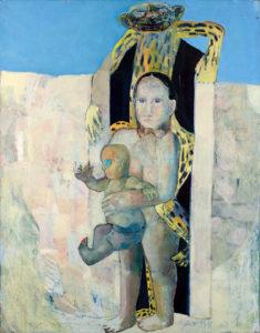 Christine Krämer · Untitled · 1987 · 130 x 150 cm · oil on canvas