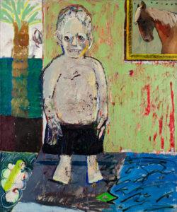 Christine Krämer · Future Boy · 1988 · 100 x 120 cm · oil on canvas