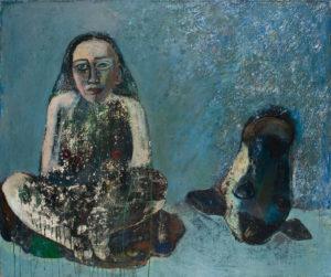 Christine Krämer · Untitled · 1987 · 100 x 120 cm · oil on canvas