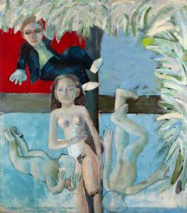 Christine Krämer · Paradise · 1987 · 130 x 140 cm · oil on canvas