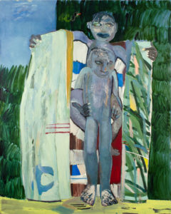 Christine Krämer · Demon · 1988 · 130 x 140 cm · oil on canvas