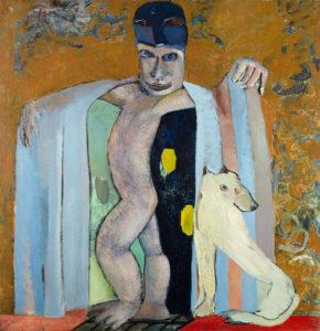 Christine Krämer · Demon · 1988 · 140 x 120 cm · oil on canvas