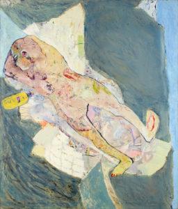 Christine Krämer · Beach · 1986 · 130 x 150 cm · oil on canvas