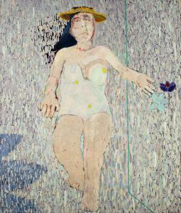 Christine Krämer · Beach · 1986 · 130 x 140 cm · oil on canvas