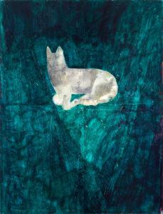 Christine Krämer · Untitled · 1989 · 130 x 170 cm · oil and acrylic on canvas