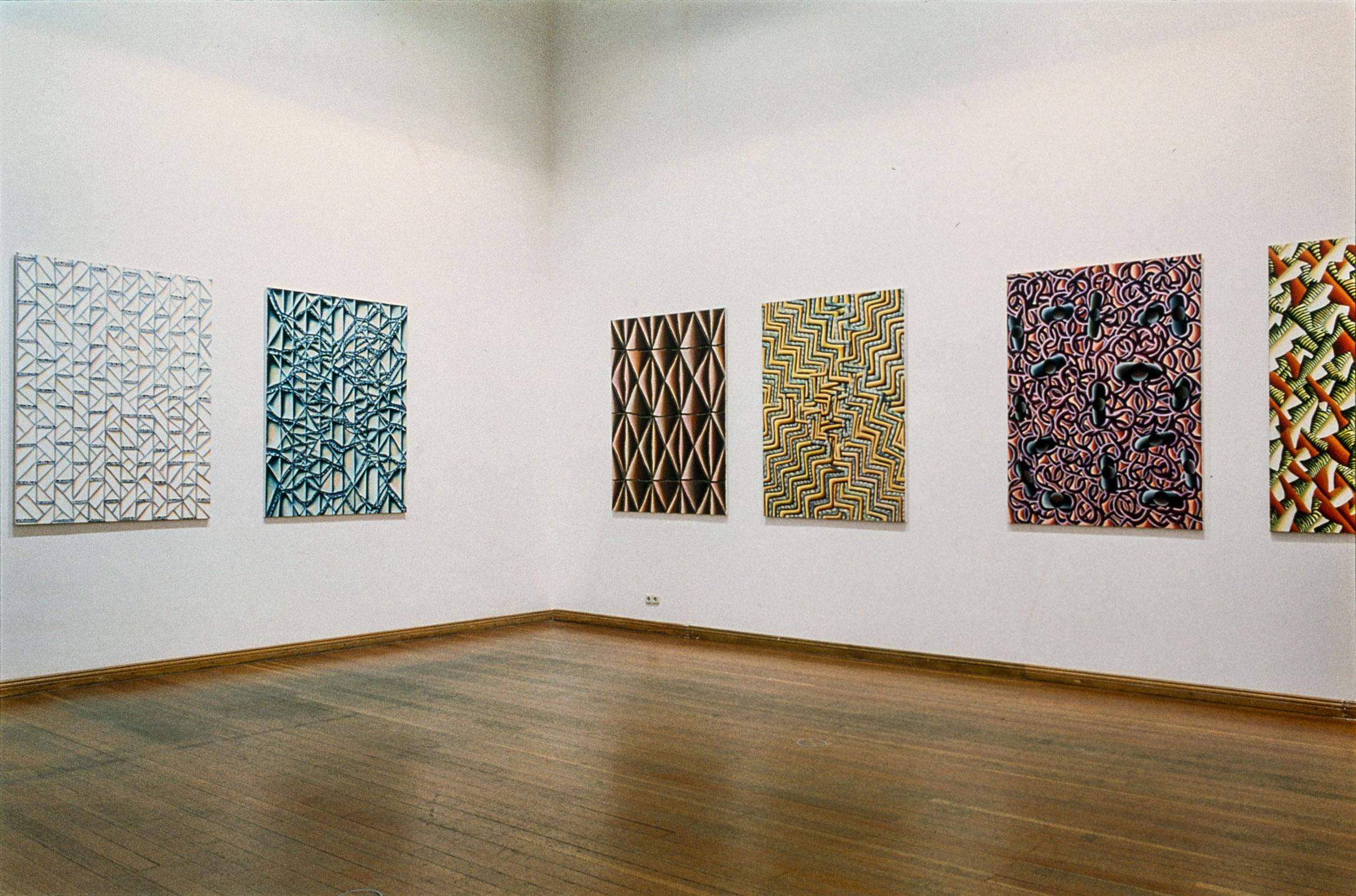 "Christine Krämer · ""Correspondences"" · Exhibition view · Gropius Bau · Berlin, 1997"