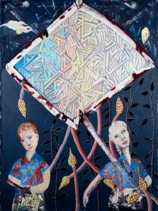 Christine Krämer · Astronaut 1 · 2018 · 120 x 160 cm · oil on canvas