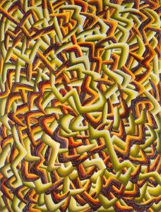 Christine Krämer · Untitled · 1998 · 120 x 160 cm · oil on canvas